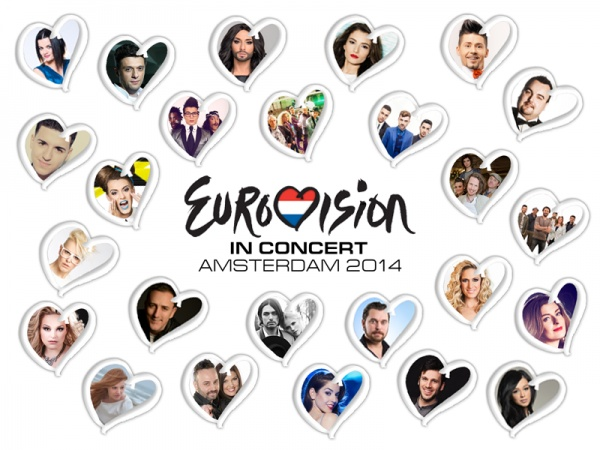 Eurovision In Concert 2014: The Line-Up!